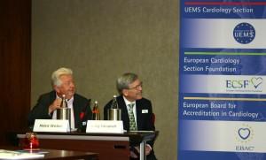 Prof. Dr. Heinz Weber, Vorsitzender ECSF Foundation Council und Dr Craig Campbell, M.D, Director CPD Ottawa (v.l.)