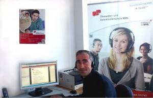 Live-Chat zur Online-Ausbildung staatlich geprüfter Übersetzer