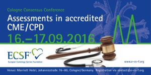"Cologne Consensus Conference 2016 zur ärztlichen Fortbildung: ""Assessments in accredited CME/CPD"""