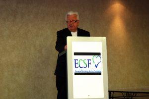 Prof. Dr. Heinz Weber, Vorsitzender des ECSF-Stifterrats