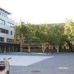 Auf dem Campus Rheinische