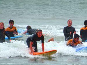 Schüler surfen