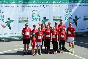 cut-e Team beim Hamburg Commercial Bank Run 2019