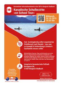 Infoabend Bergisch Gladbach über Schulen in Kanada fürs Auslandsjahr