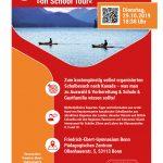 Schulbezirke aus Kanada besuchen das Friedrich-Ebert-Gymnasium in Bonn am 29.10.19