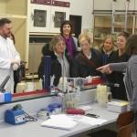US-Bildungsexperten im Labor des RBZ Köln