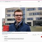 Drei Studierendeder Übersetzer- und Dolmetscherschule Köln im Interview