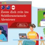 In Zeiten von Corona bietet MyStudyChoice Zoom-Meetings zum Auslandsjahr 2021 für Schüler und Eltern.