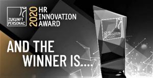 HR Innovation Award auf Zukunft Personal Europe verliehen