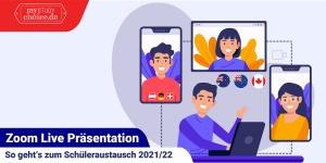 Im Februar 2020 lädt das Informationsportal MyStudyChoice zu zehn Online-Meetings zum Auslandsjahr ein.