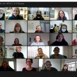 Screenshot: Online-Unterricht für angehende MTA-Labor am RBZ Köln