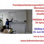 Ausbildung Fremdsprachenkorrespondent und Übersetzer/Dolmetscher an der Übersetzer- und Dolmetscherschule Köln