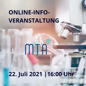 Online-Infoveranstaltung MTLA-Ausbildung am 22. Juli 2021 um 16 Uhr